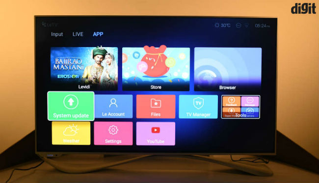 LeEco Super3 X55 4K Smart LED TV Review