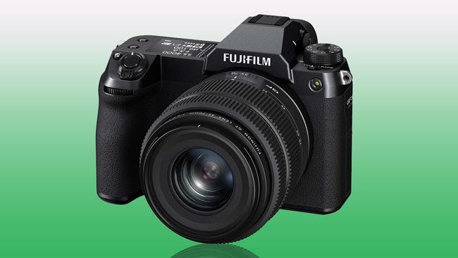 Fujifilm GFX 50S II Body and Lens combo