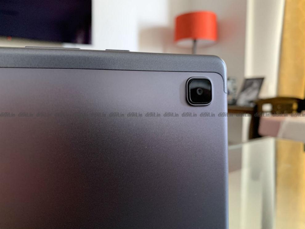 The Samsung Galaxy Tab A 7 has a single camera at the back