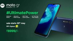 Motorola Moto G8 Power Lite launched at Rs 8,999: Sale date, offers, specs