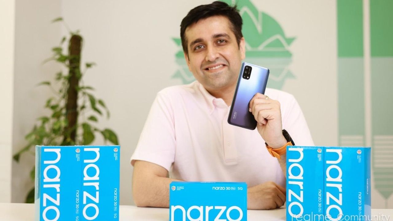 Realme Narzo 30A, Narzo 30 Pro 5G and Buds Air 2 with ANC to launch on February 24 in India