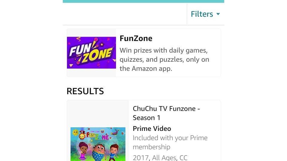 Amazon App Funzone July Carnival Jackpot
