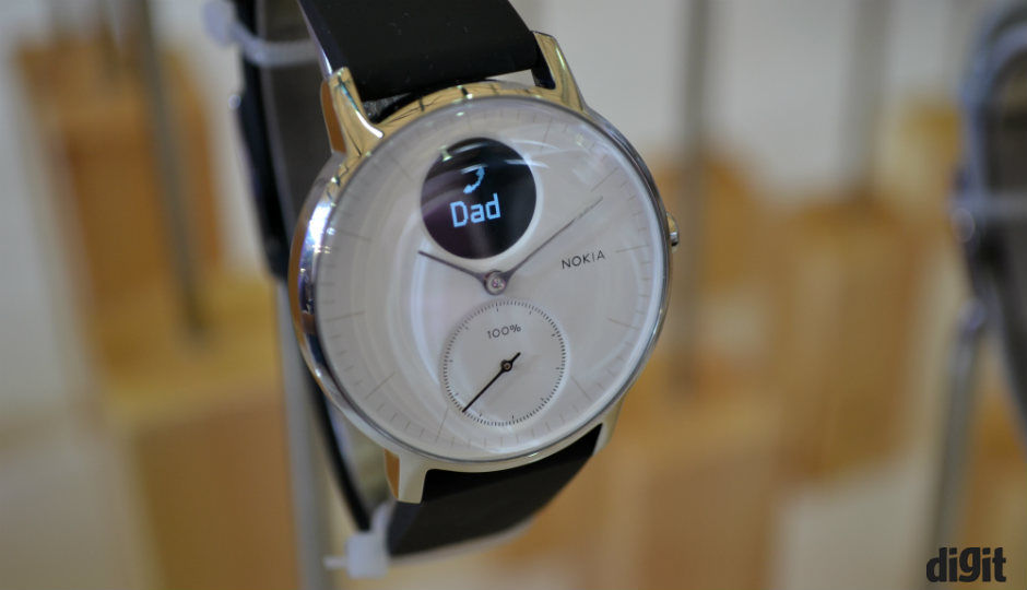 Exclusive Nokia Steel Hr Smartwatch Coming To India Later