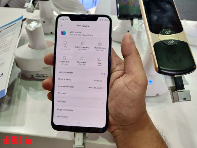 Xiaomi Mi 8 First Impressions: Not just another iPhone X