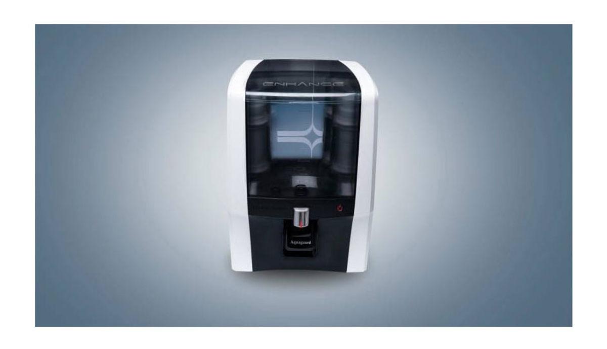 Aquaguard Enhance RO+UV+UF+TDS+ 7 L RO + UV +UF Water Purifier (Black)