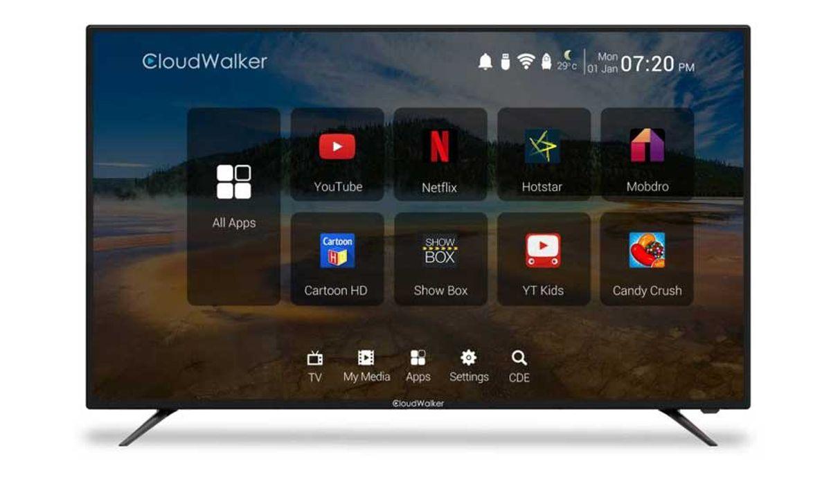 Cloudwalkar 65 ಇಂಚುಗಳು Smart 4K LED TV