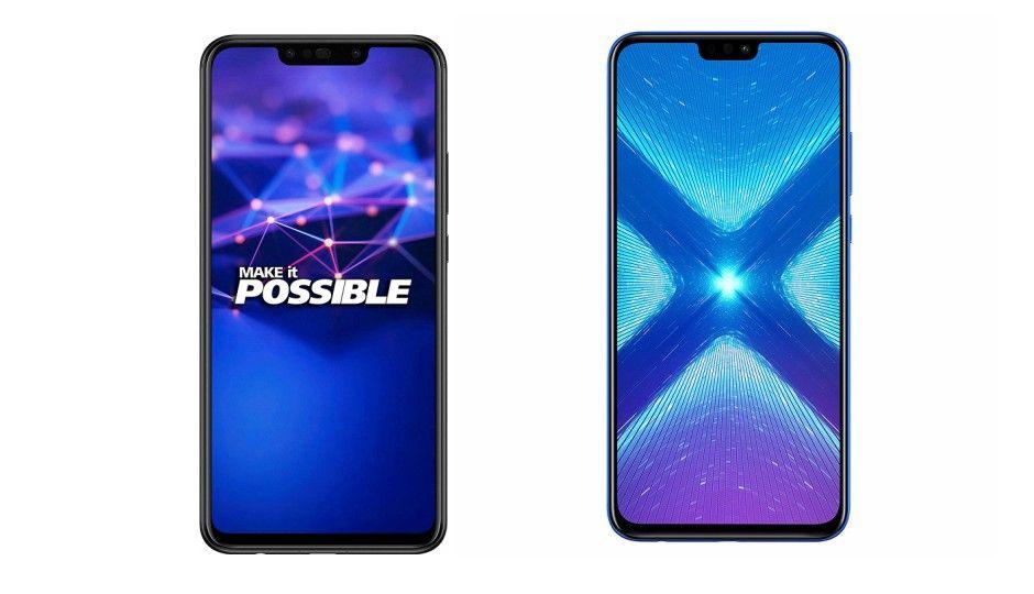 Spec comparison: Honor 8x vs Huawei Nova 3i - Study Point