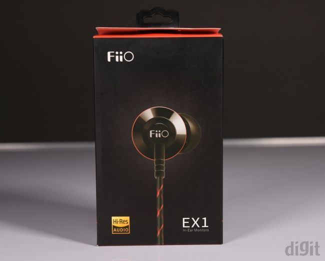 FiiO EX1 (2nd Gen) box