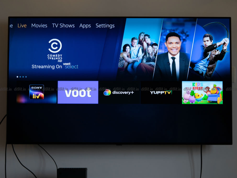 The Fire TV Stick now supports Live TV.