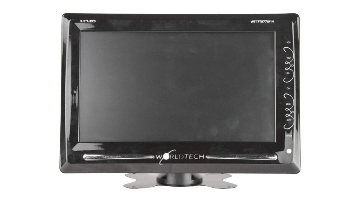 Worldtech 9.5 inches HD Ready LED TV