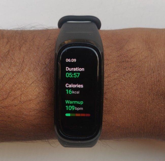 The Oppo Band Style offers a host of activity tracking options