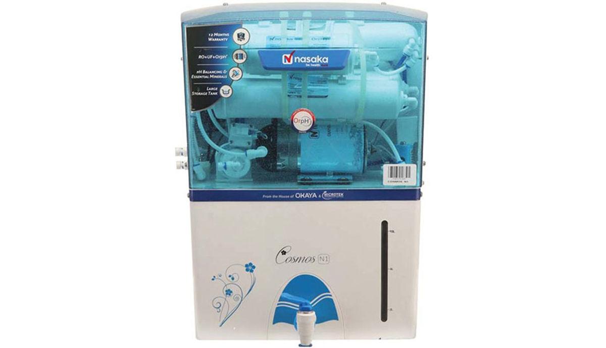 Nasaka Cosmos N1 11 L RO + UF Water Purifier (White)