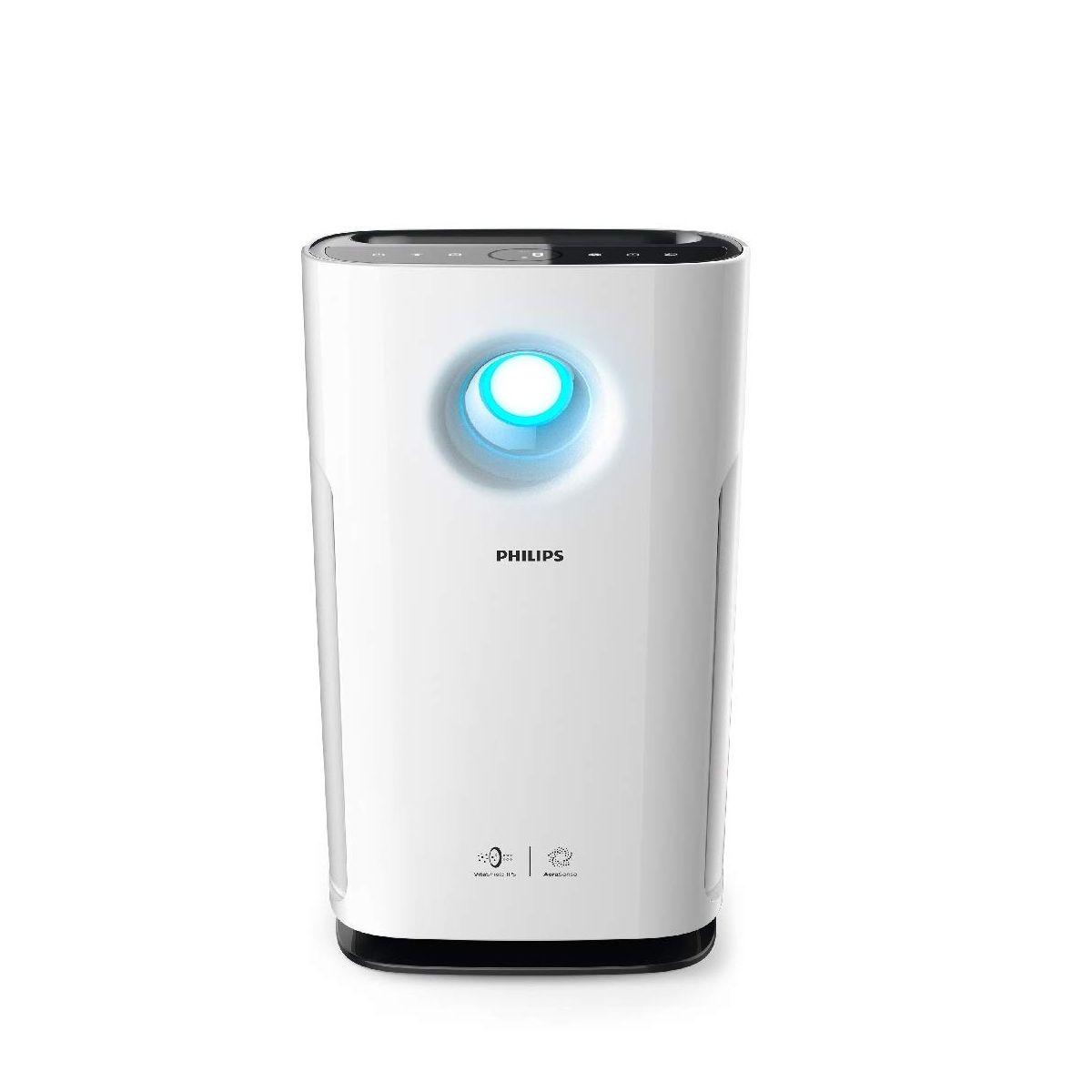 फिलिप्स 3000 SERIES AERASENSE AC3256/20 Portable Air Purifier ( White )
