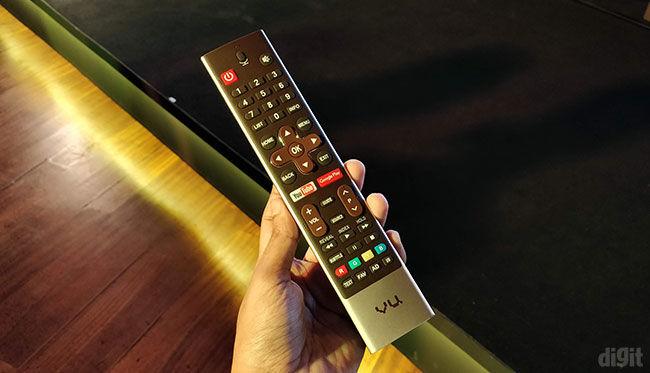 vu vu100 4k hdr tv