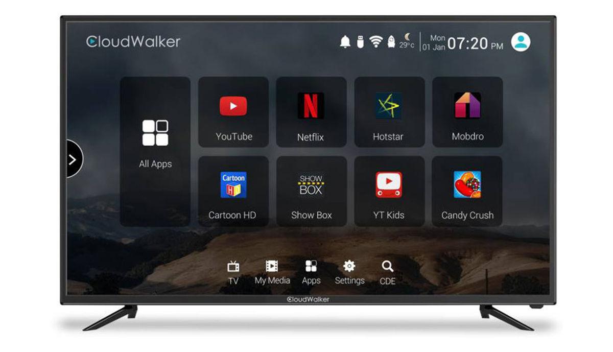 Cloudwalkar 43 inches Smart Full HD LED TV