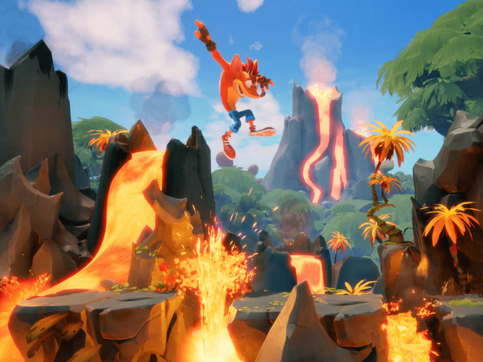 Crash Bandicoot 4 has some challenging levels
