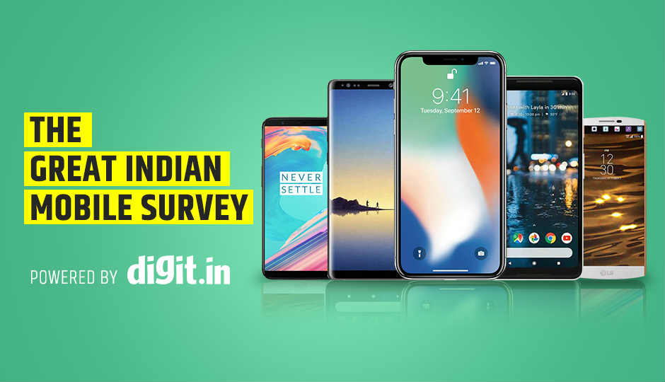 Digit's Great Indian Mobile Survey Ranks India's Top 5 Smartphone...