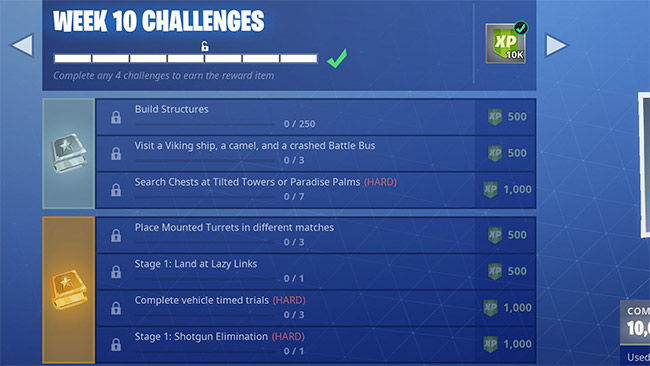 Fortnite Season 6 Week 10 Challenges Guide How To Complete Them