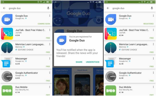 Google releases video-calling app Duo, opens pre-registrations in India