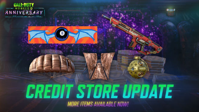 Call of Duty: Mobile's Credit Store has been updated