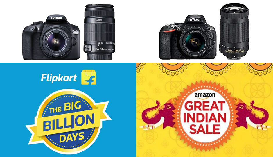 13eca16d42c Amazon and Flipkart Festive Sale Day 3  Deals on cameras by Nikon ...