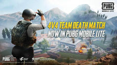 PUBG Mobile Lite 4v4 Team Death Match mode now available to play