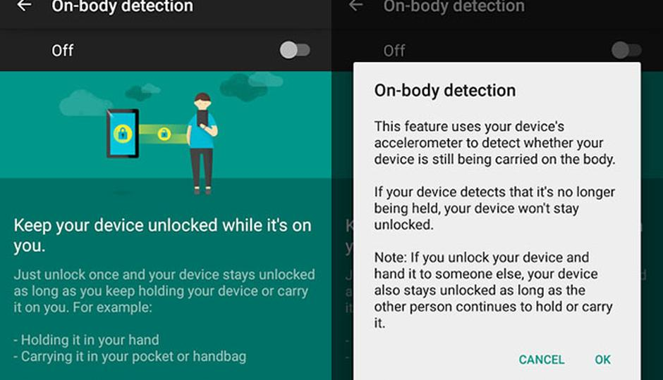 Google rolls out 'on-body' smart lock feature   Digit
