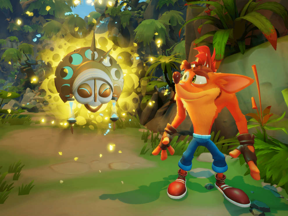 Crash Bandicoot 4 is not in HDR on the PS4 Pro.