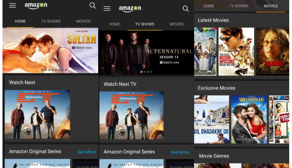 Amazon Prime Video App For Android Tv Released On Google