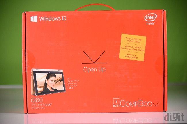 iBall CompBook i360 box