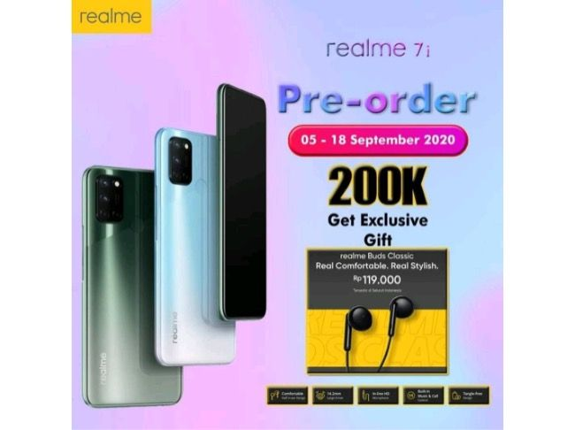 Realme 7i design leaked ahead of launch