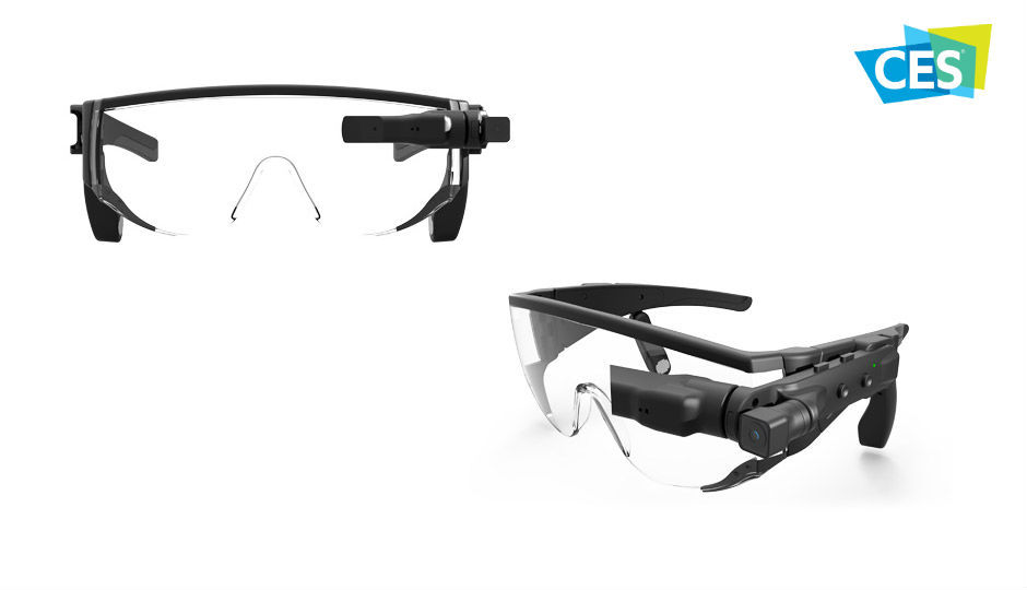 Lenovo has paired AR and AI in the New Glass C220 unveiled at CES 2018