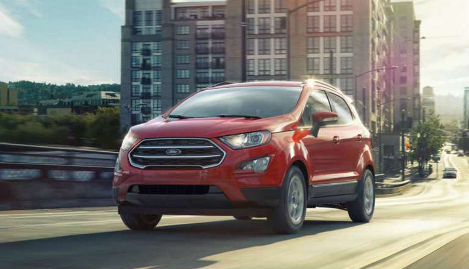 Ford Ecosport To Launch Around Diwali With Ford Sync  Touch