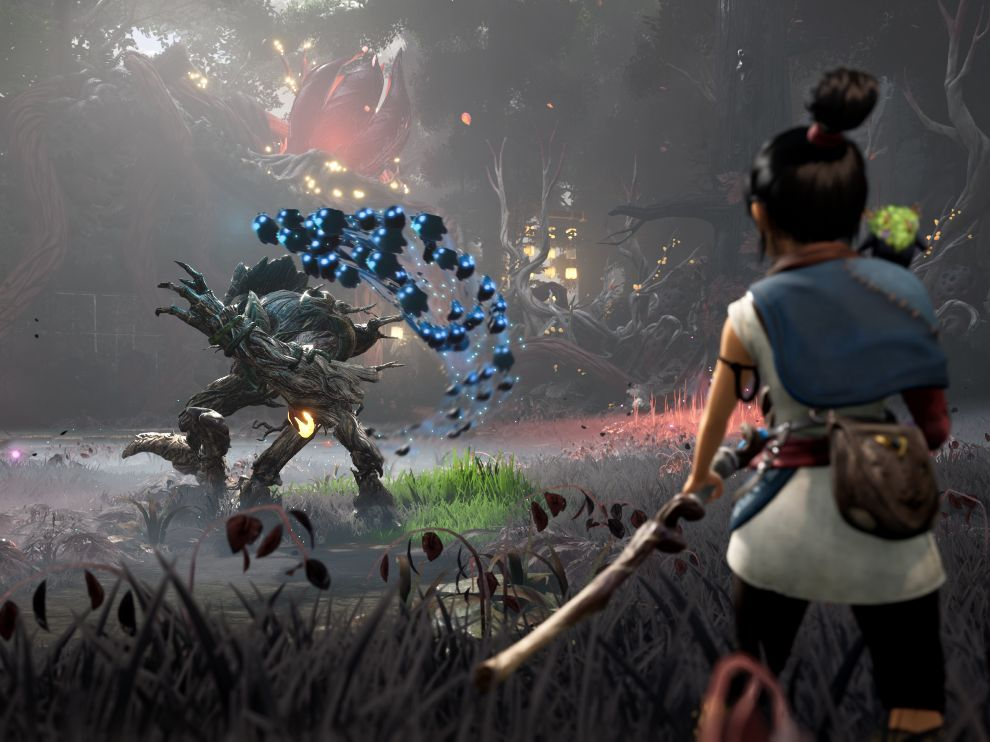 Kena: Bridge of Spirits is a third person action adventure game.
