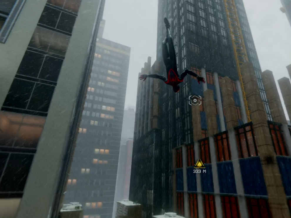 Swinging through the city is fun in Spider-man Miles Morales.