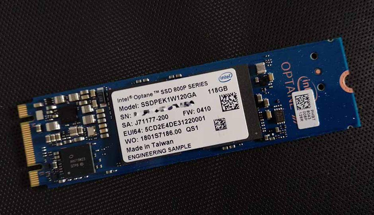 इंटेल Optane SSD 800p 118GB