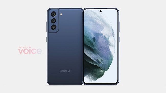 Samsung Galaxy S21 FE revealed by OnLeaks