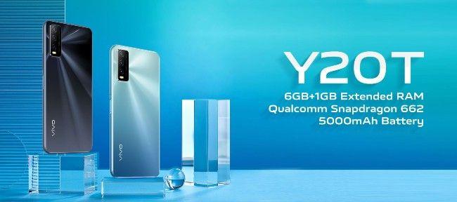 Vivo Y20T specifications