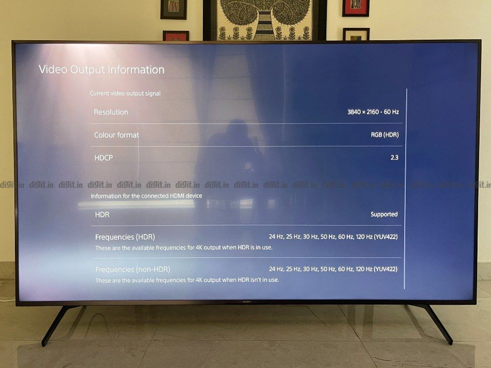 The Sony X85J can produce RGB HDR thanks to HDMI 2.1.