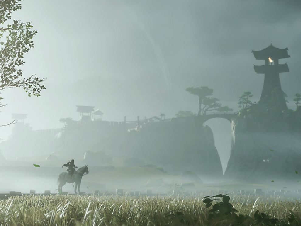 Ghost of Tsushima is a beautiful looking game.