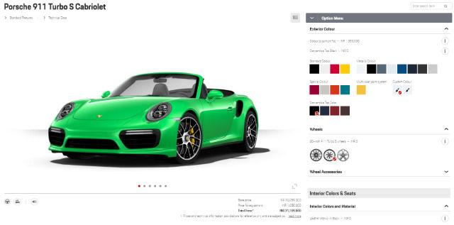 Inside Porsche S Bespoke Physical Car Configurator Experience