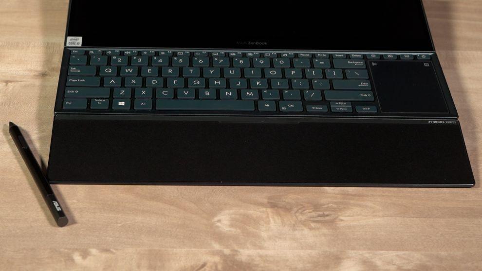 ZenBook Pro Duo 15 OLED Keyboard