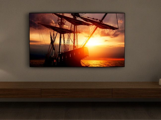 The Sony Bravia XR A80J features a 65-inch 4K (3840x2160 pixels) UHD OLED display