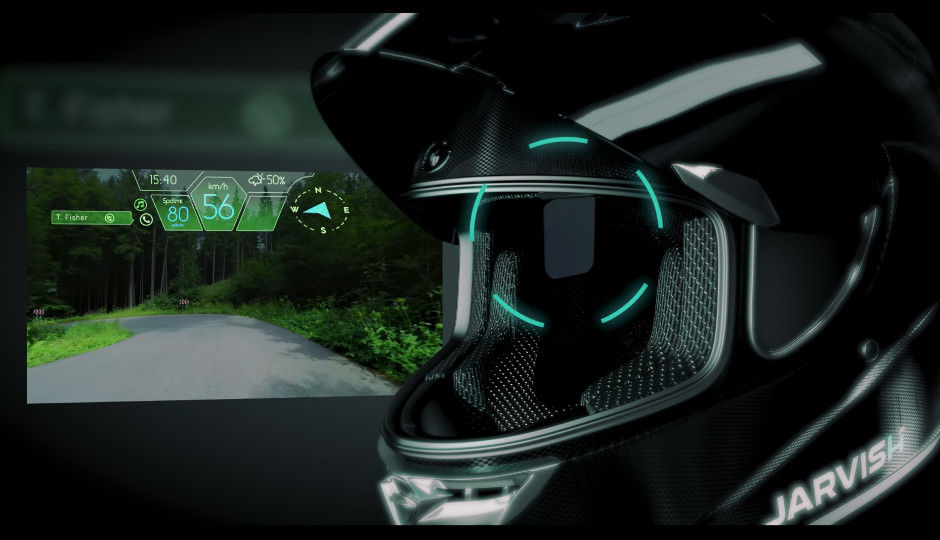Jarvish Smart Helmet Has Everything Including Hud 360