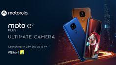 Moto E7 Plus India Launch: भारत में 23 सितम्बर को लॉन्च होगा ये मोबाइल फोन, कम कीमत में मिलेंगे ये फीचर्स