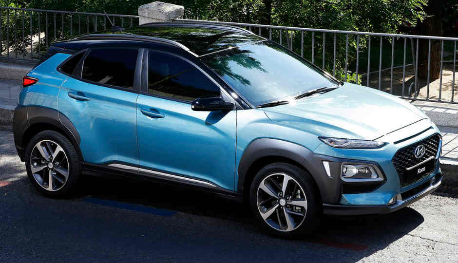 technology inside the 2018 hyundai kona suv in pictures. Black Bedroom Furniture Sets. Home Design Ideas