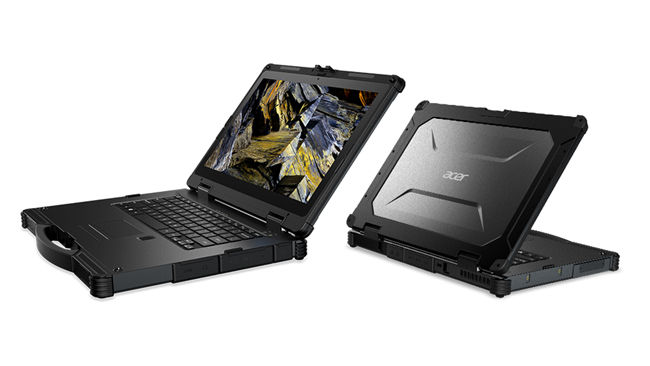 Acer Enduro Laptops and tablets