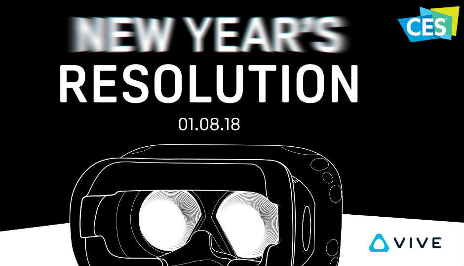 HTC might reveal 4K Vive VR headset CES 2018