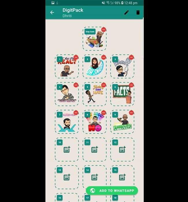 How to create a customized WhatsApp sticker pack | Digit