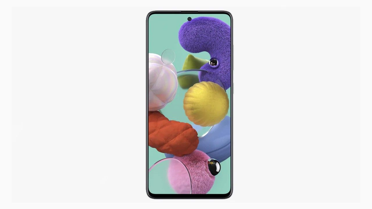 Samsung Galaxy A51 renders reveal thin bezels with a punch-hole display